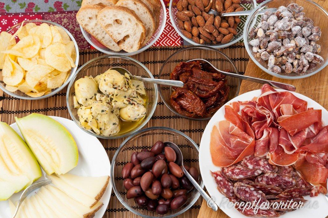 spanska tapas recept