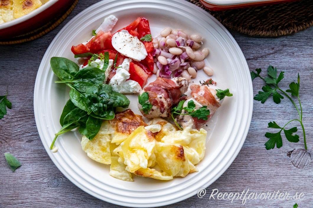 potatisgratäng vegetariskt tillbehör