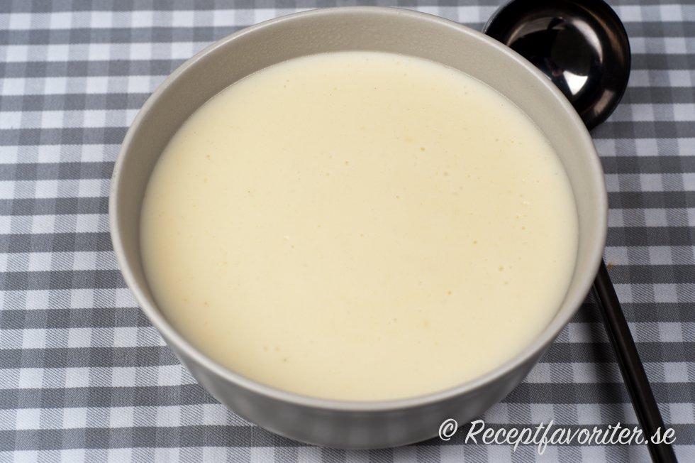 vit sås utan mjölk