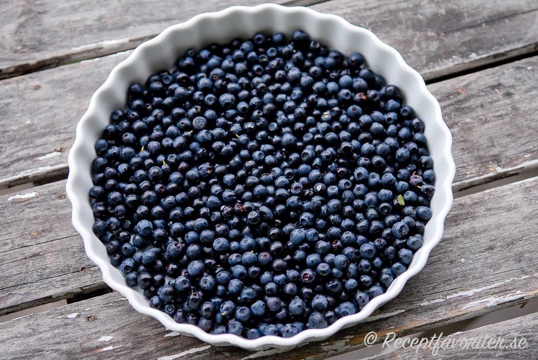1 dl blåbär gram