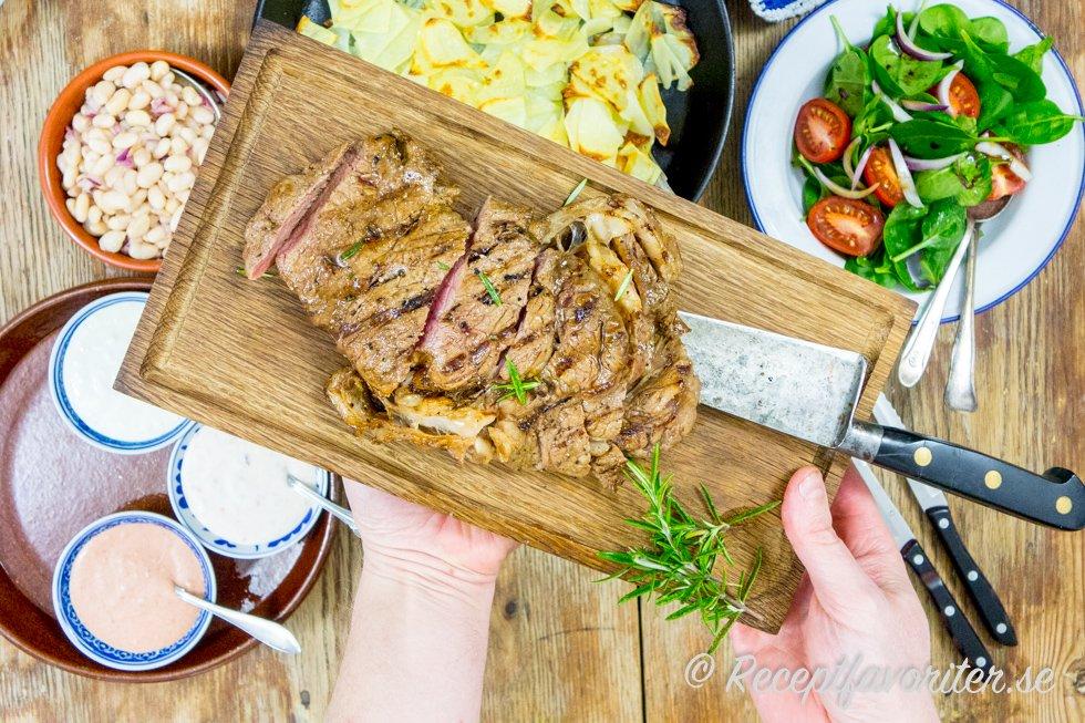 enkel sås till kött