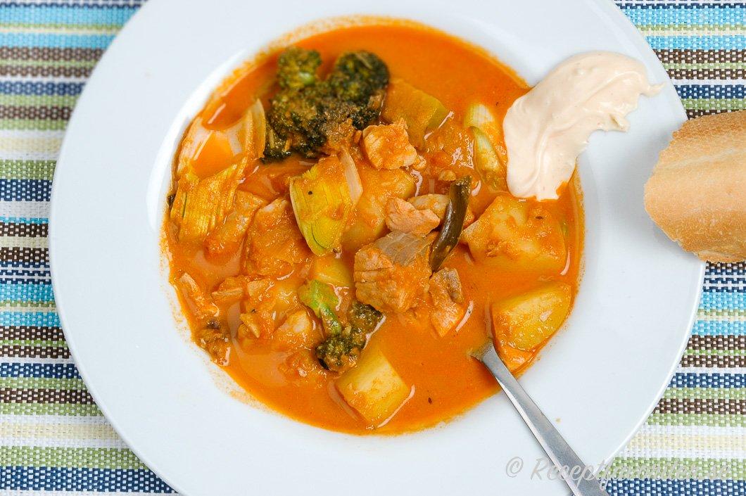 fransk fisksoppa med aioli