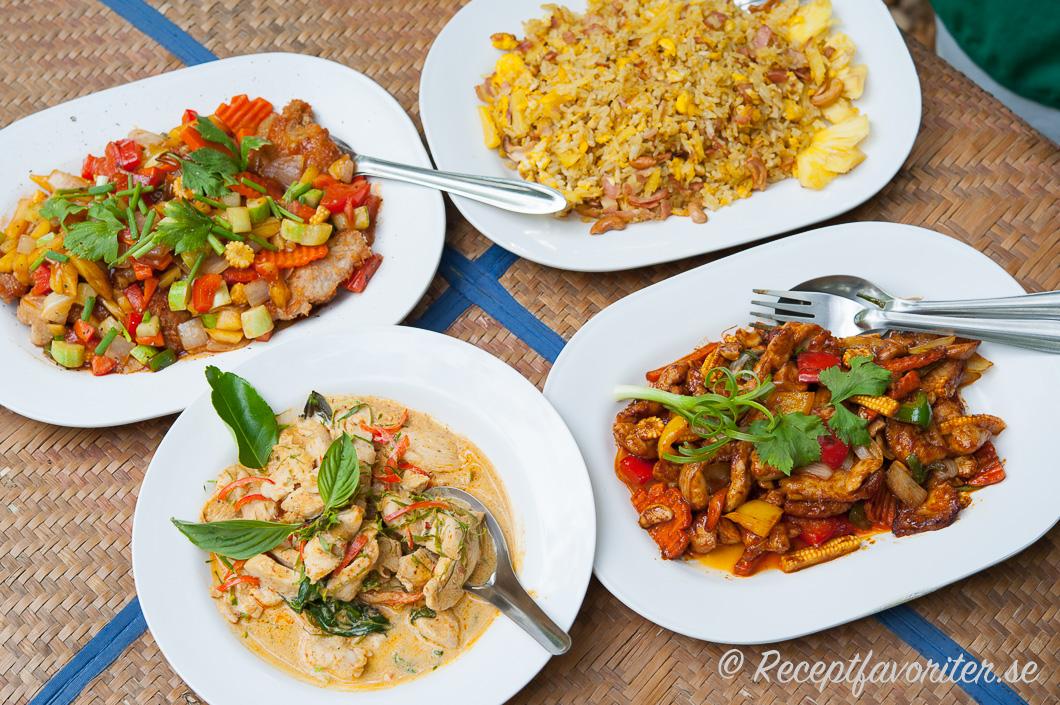 stekt ris på thailändskt vis