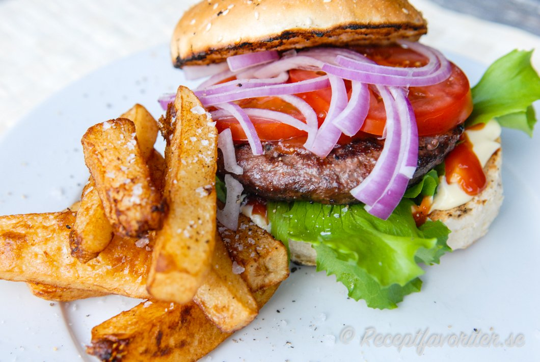 dressing hamburgare recept