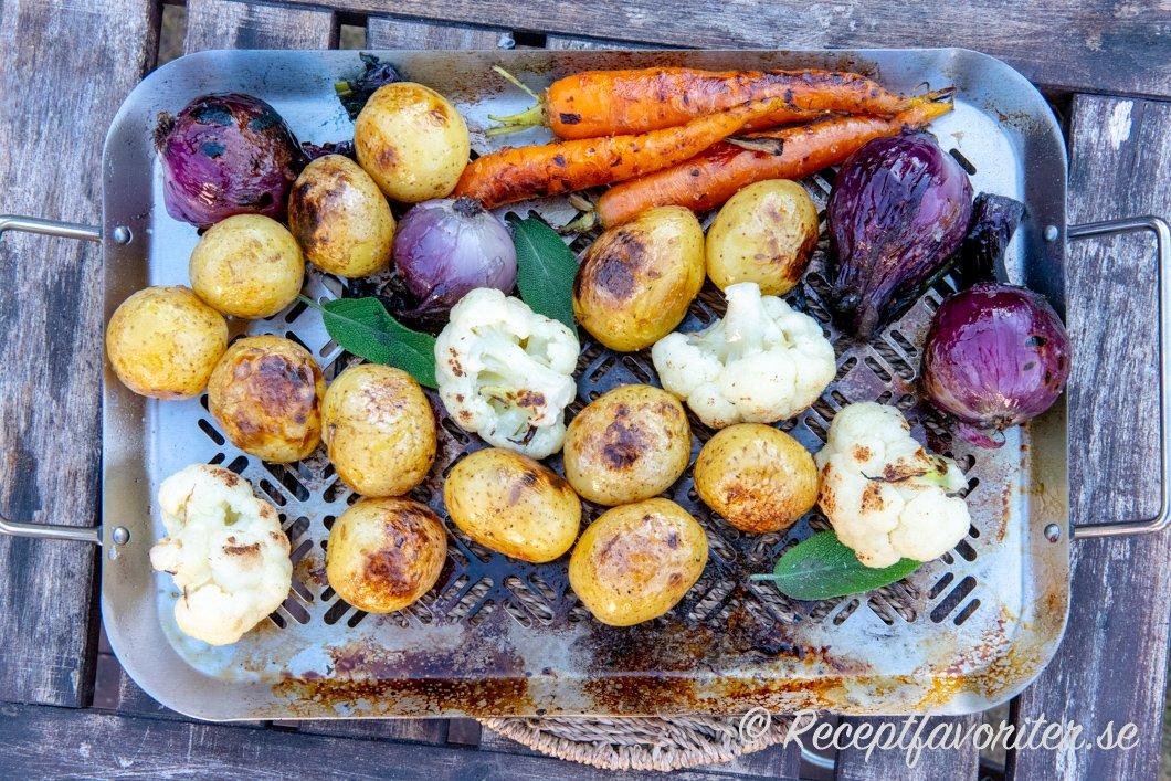 grilla grönsaker