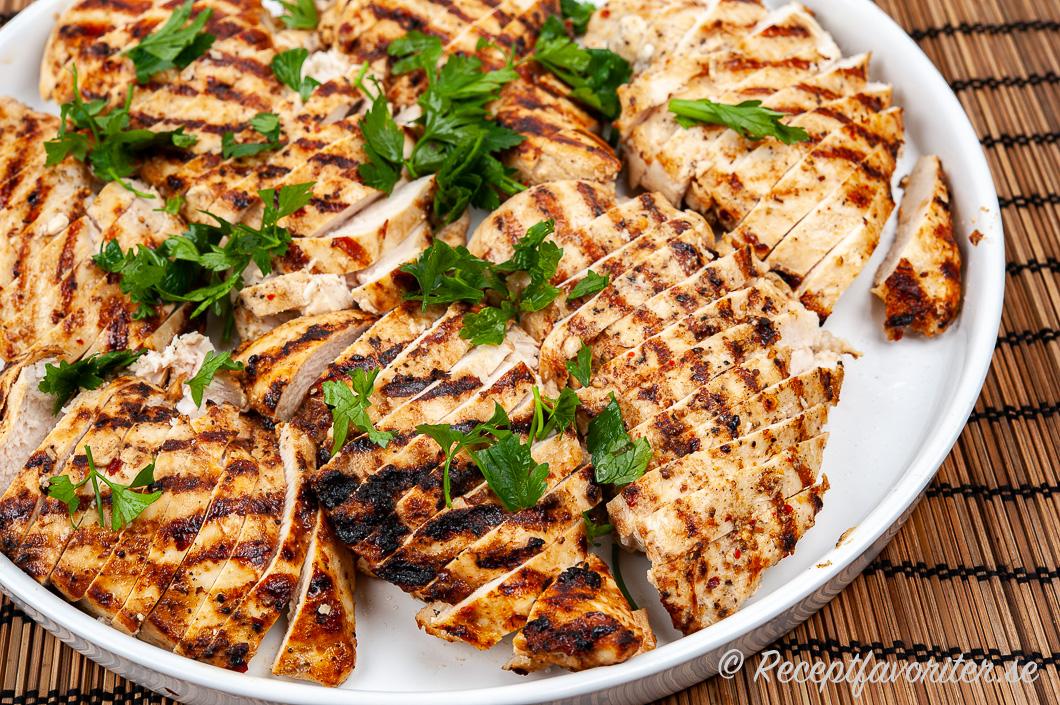 recept grillad kycklingfile