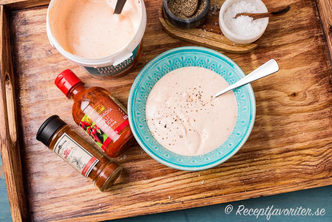 turkisk yoghurt istället för creme fraiche