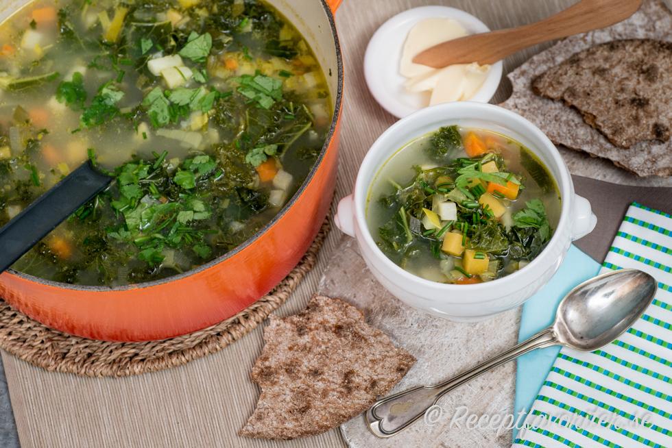 soppa med grönkål