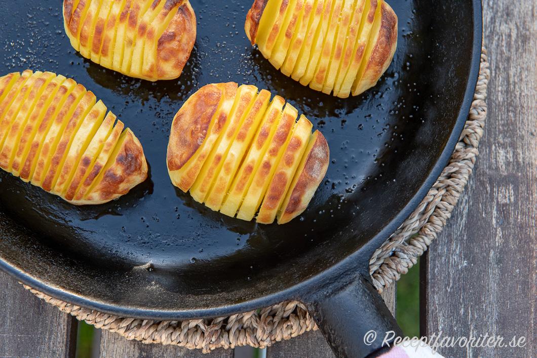 vilken sorts potatis till hasselbackspotatis