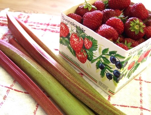 Sylta och safta jordgubbar
