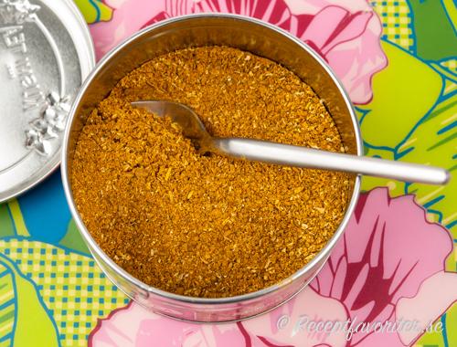 Hemgjort Garam masala currypulver