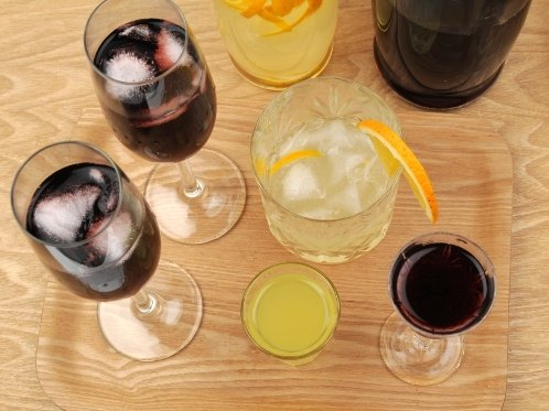 Hemgjort vin och likör