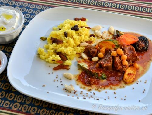 Recept från Marocko med tagine och couscous