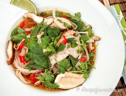 Pho-soppa med kyckling
