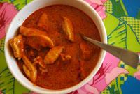 Korma curry med kyckling