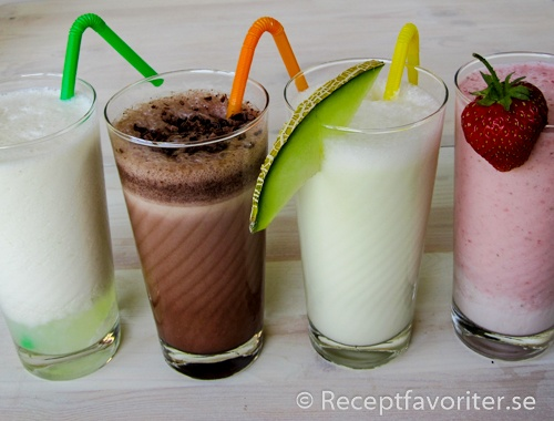 Milkshake milkshakerecept