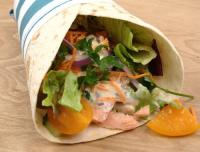 Lax wrap tortilla rulle