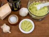 Pesto med bondbönor