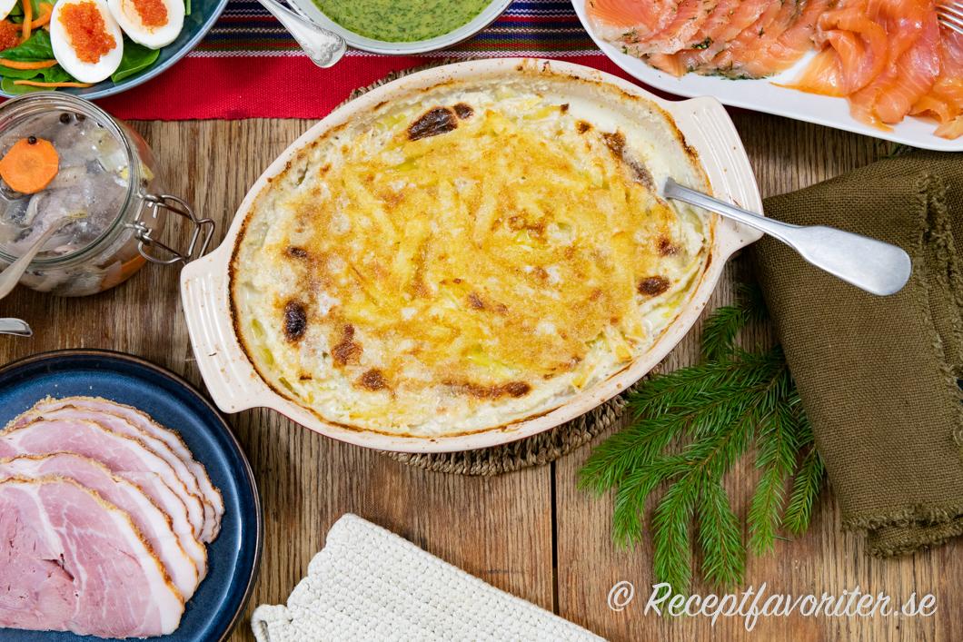 vad åt man innan potatis