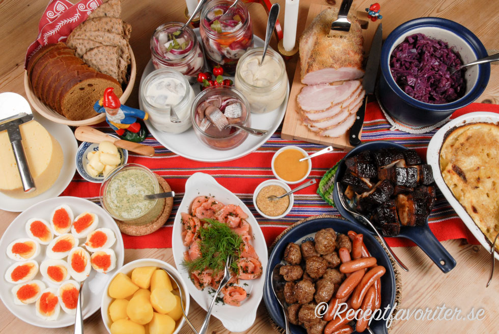 Julmat på svenskt julbord