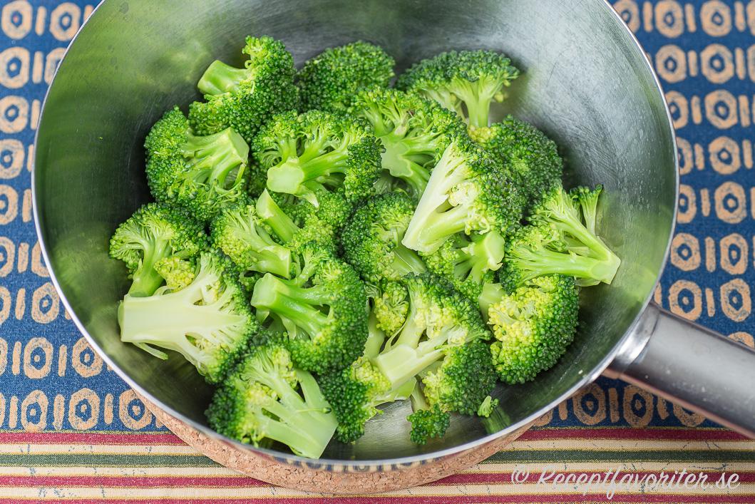 färsk broccoli koktid
