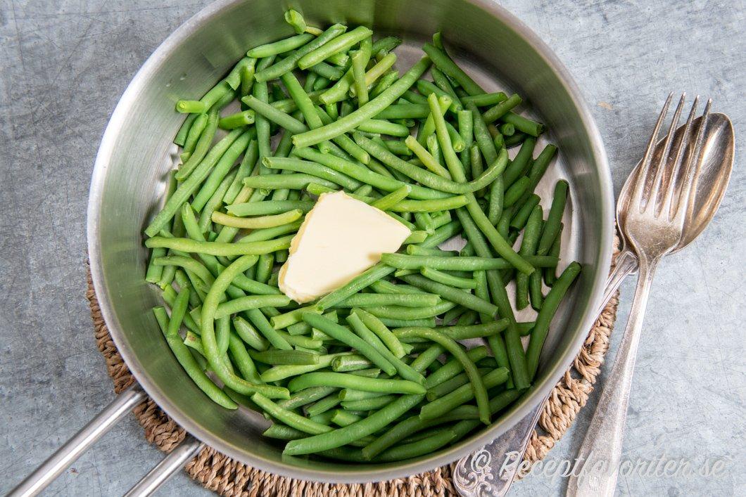 gröna bönor recept