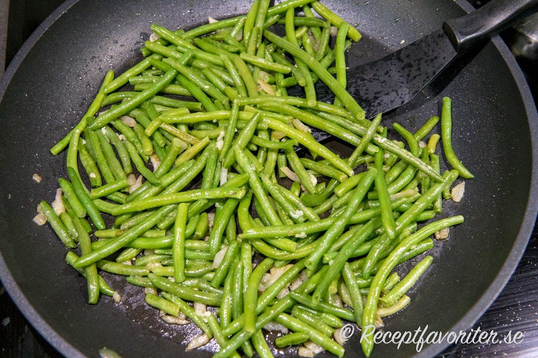 gröna bönor haricot verts