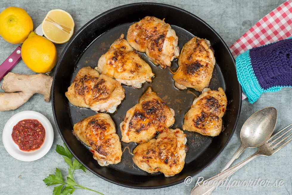 fryst kycklingfile i ugn 200 grader