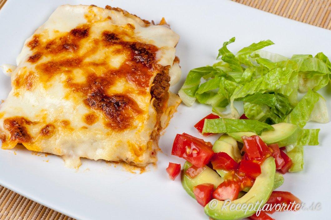 lasagne sås med ost