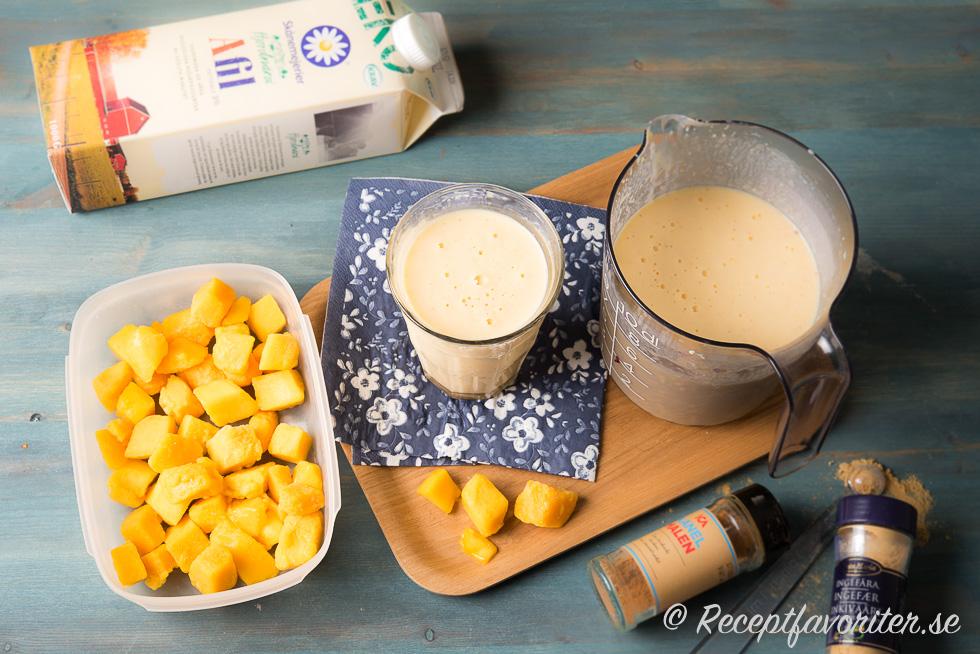 fryst mango smoothie