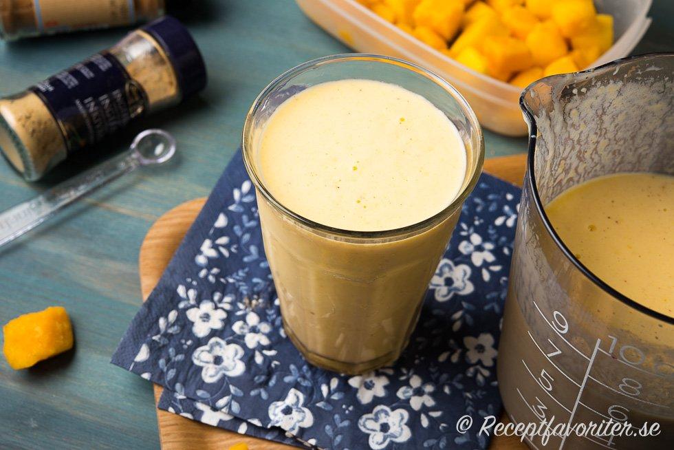 smoothie med filmjölk