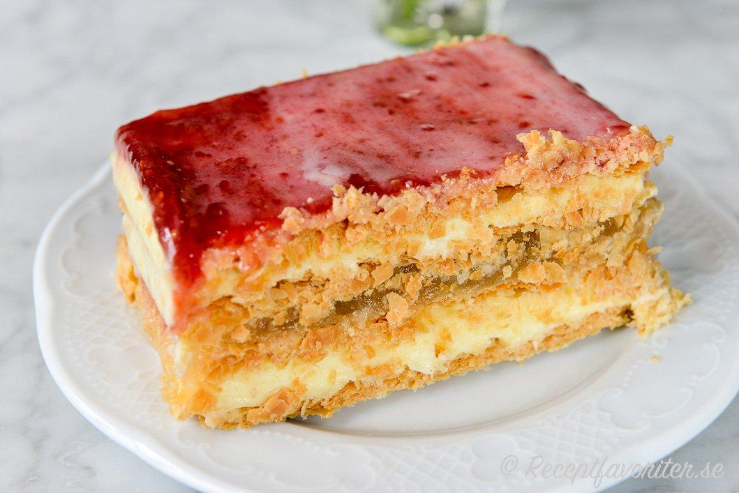 napoleon tårta recept