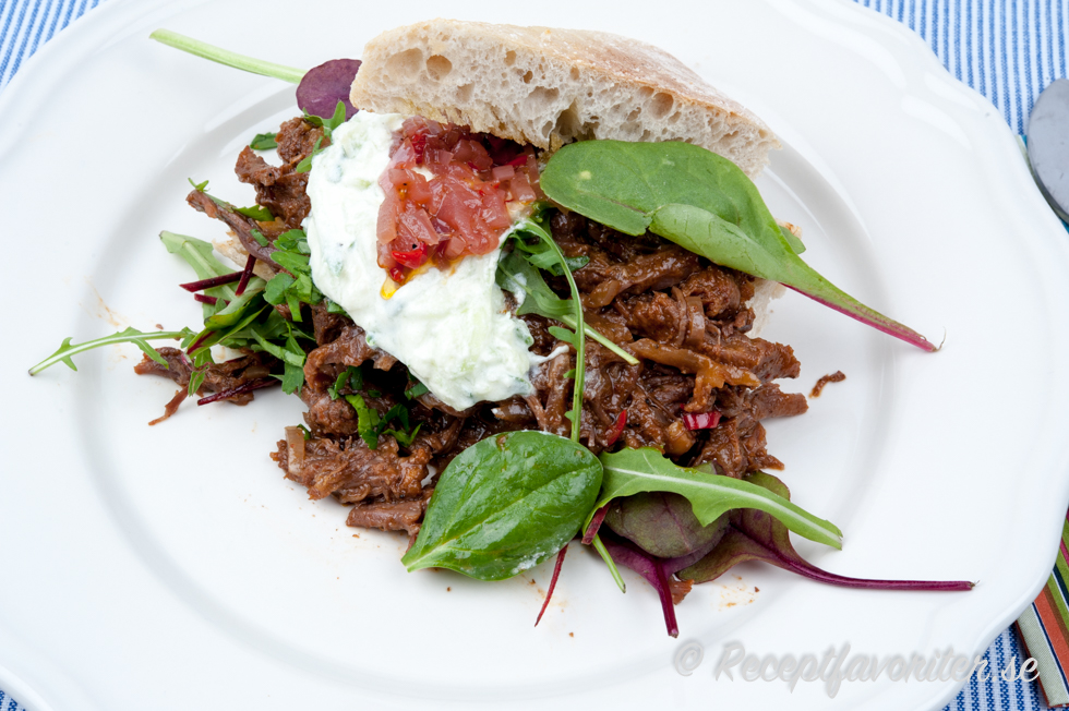 recept pulled beef