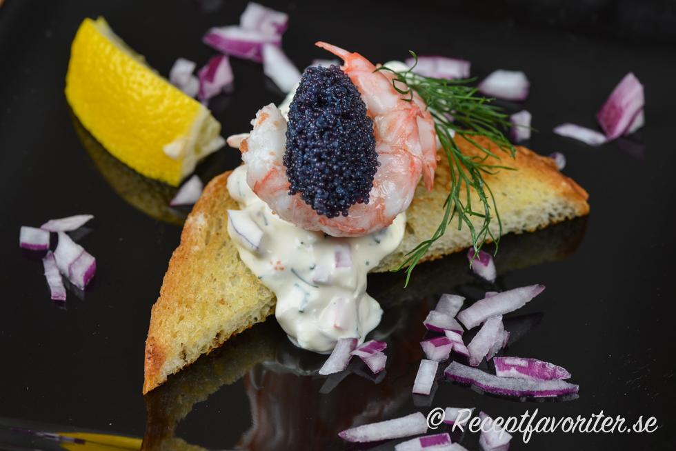 svart kaviar recept
