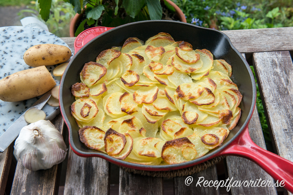fast eller mjölig potatis till potatisgratäng