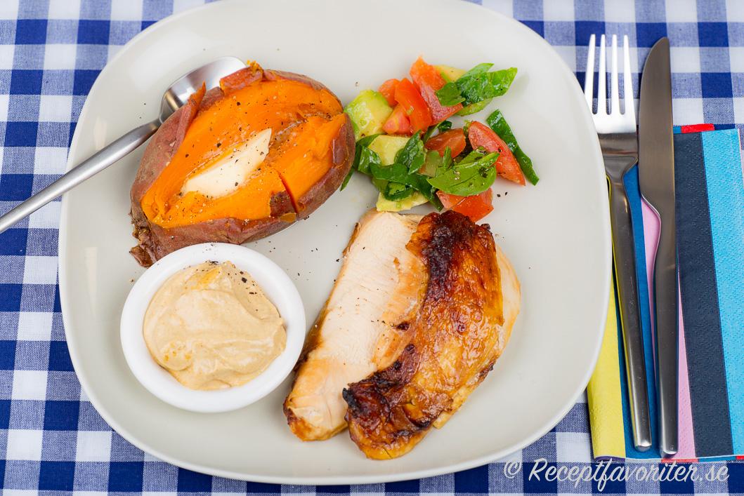 Stekt kycklingfile recept