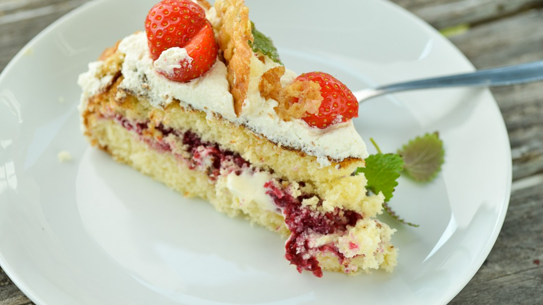 enkel vaniljkräm till tårta