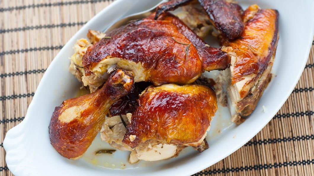 halv grillad kyckling kcal