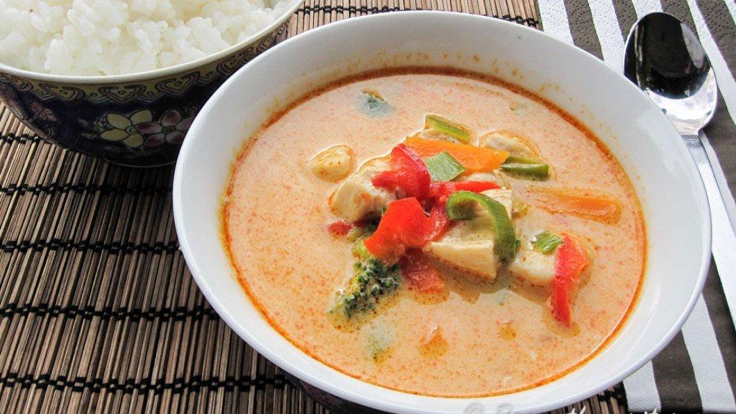 thailändsk röd curry