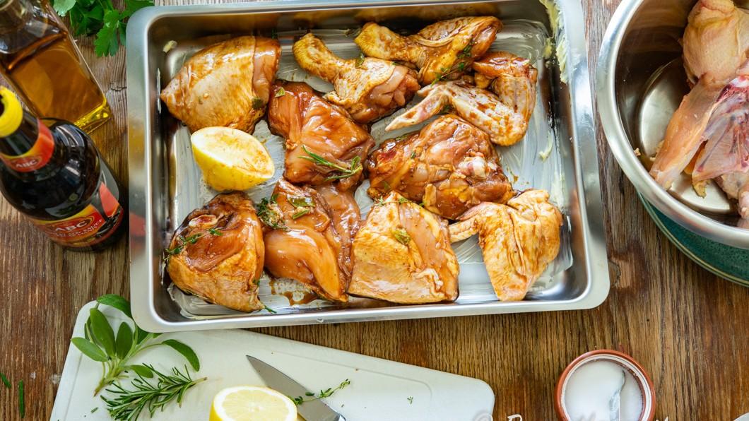 tina fryst kyckling i kylskåp