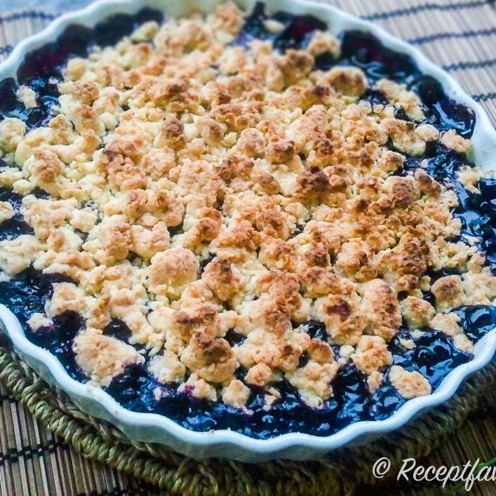 blåbärspaj utan smör