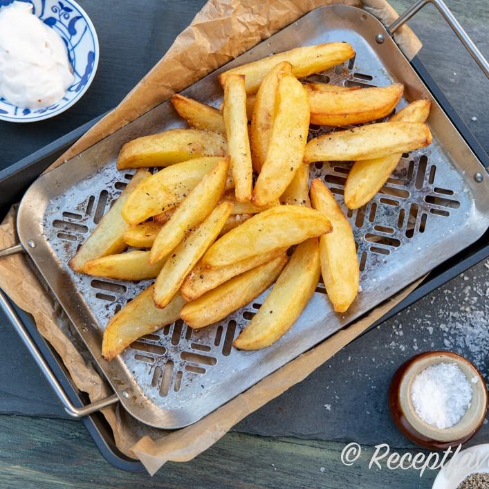 friterad mat recept