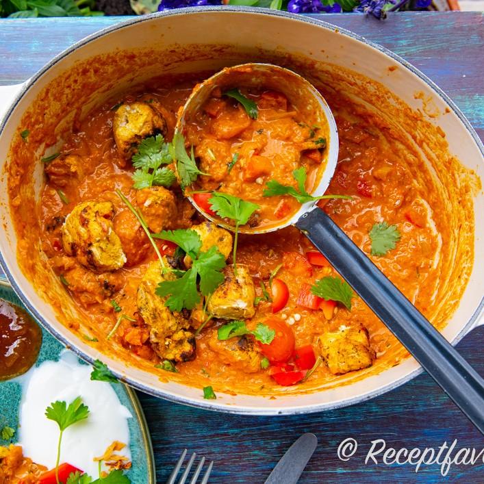 indisk vegetarisk gryta tikka masala