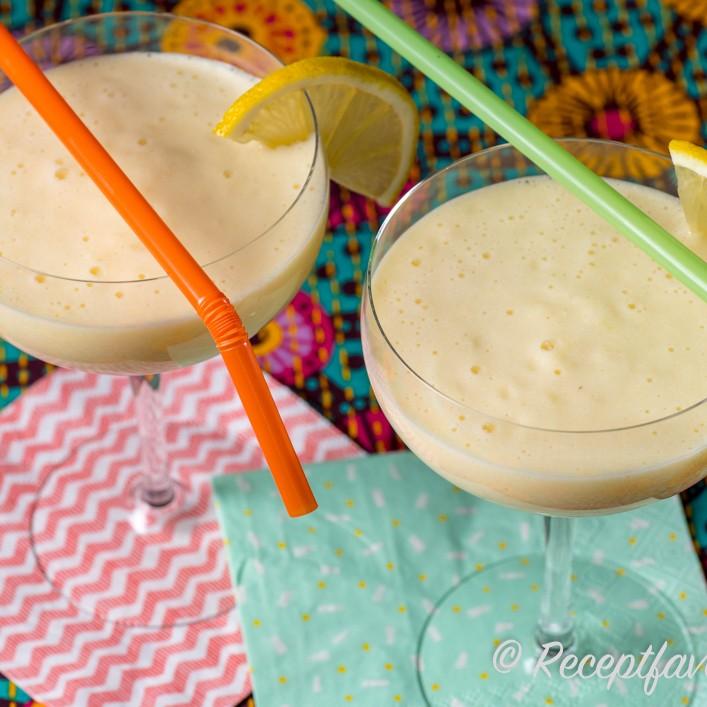 yoghurt kvarg ananas kokos