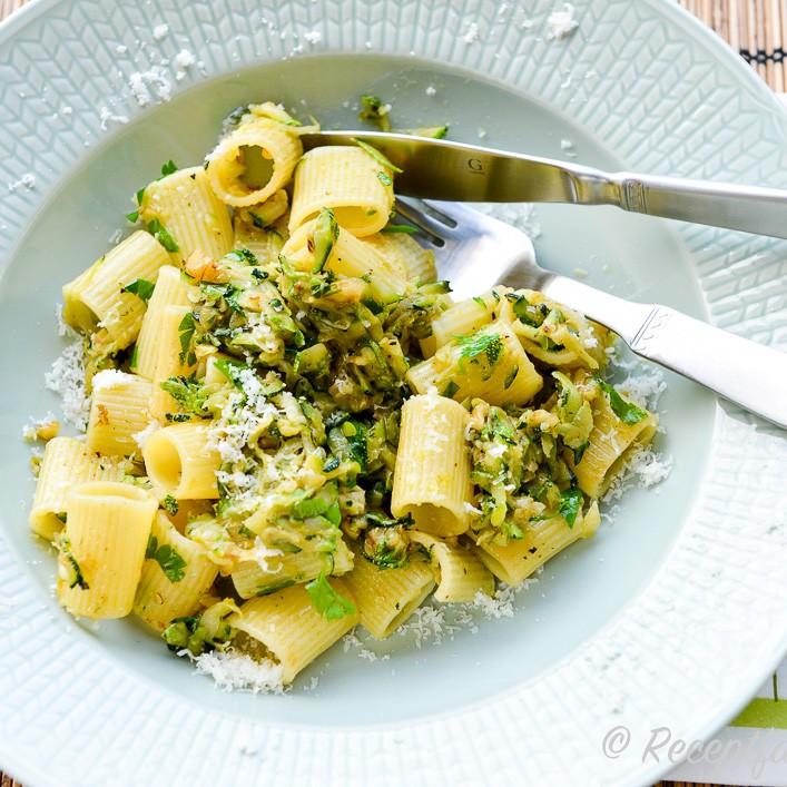 zucchini vegetariskt recept