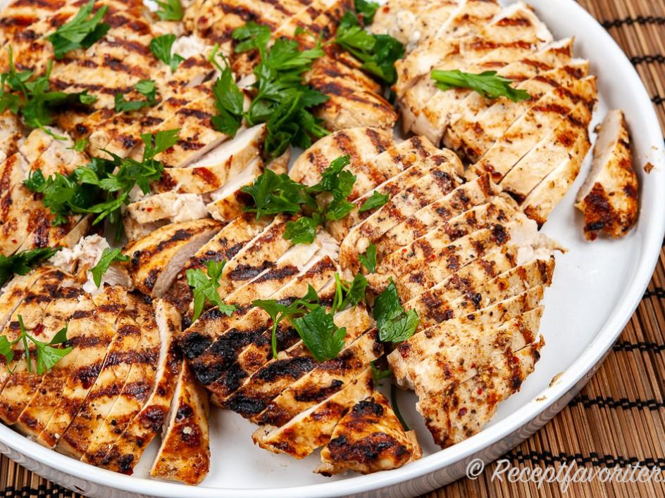 fryst kycklingfile recept