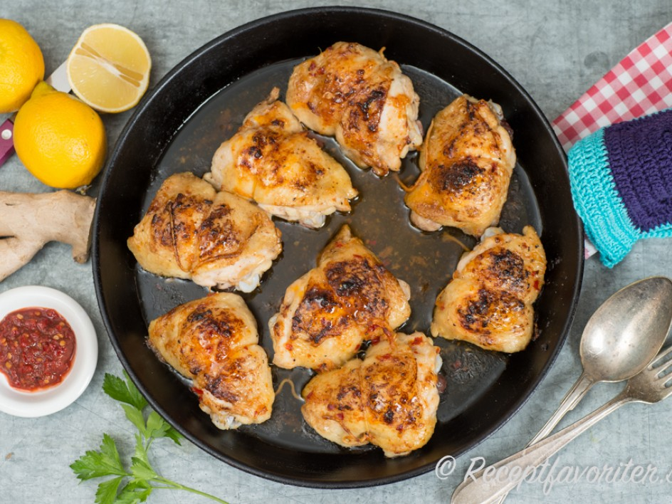 frysta kycklingfileer i ugn recept