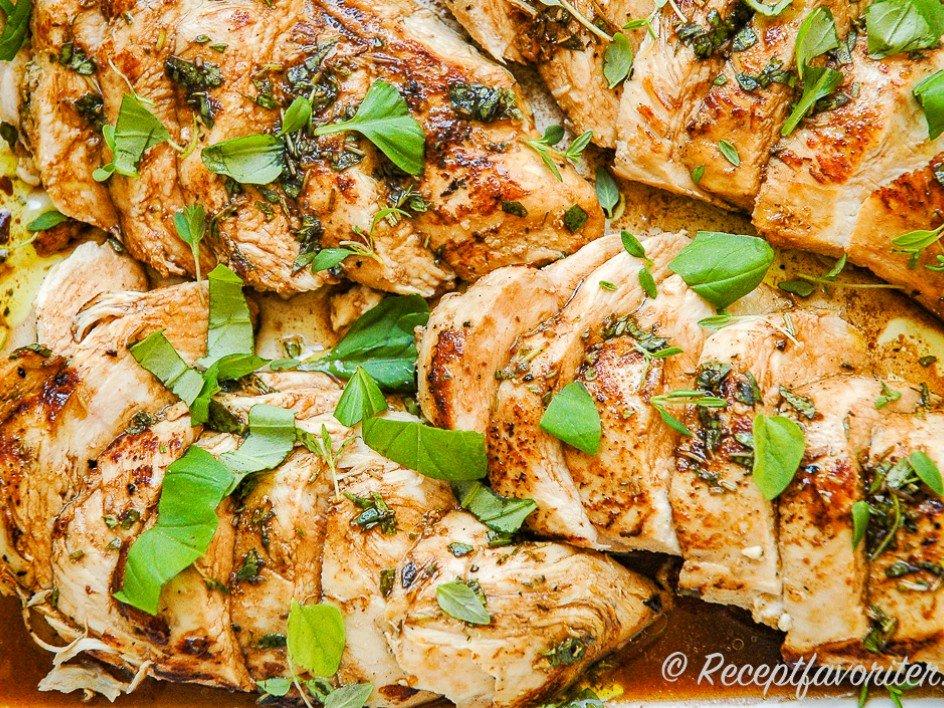 marinerad kycklingfile recept