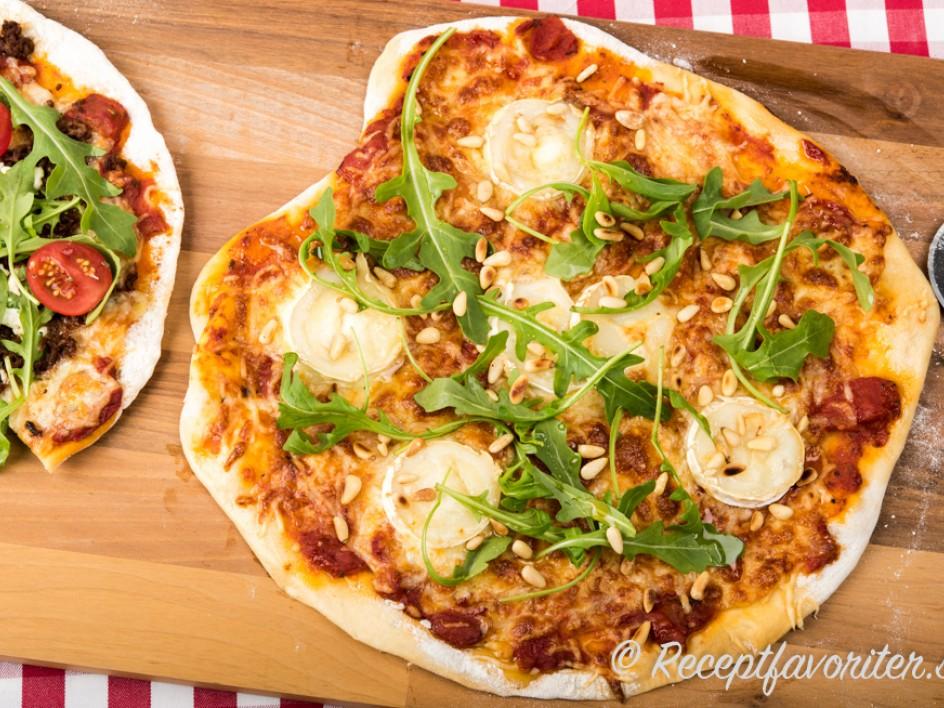 pizzadeg med bikarbonat