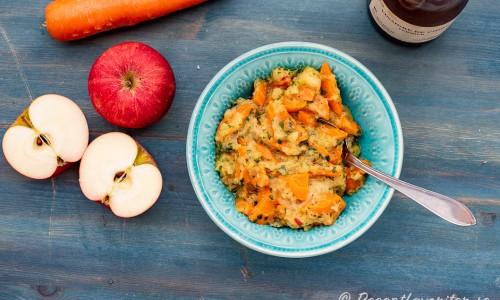 Äppel- och morotsröra
